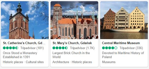 Gdansk Attractions 2
