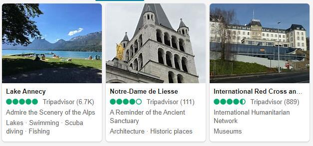 Geneva Attractions