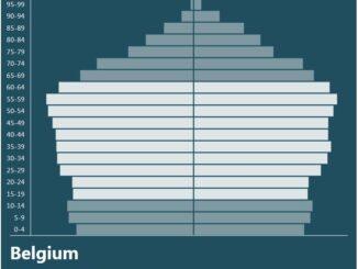 Belgium Population Pyramid