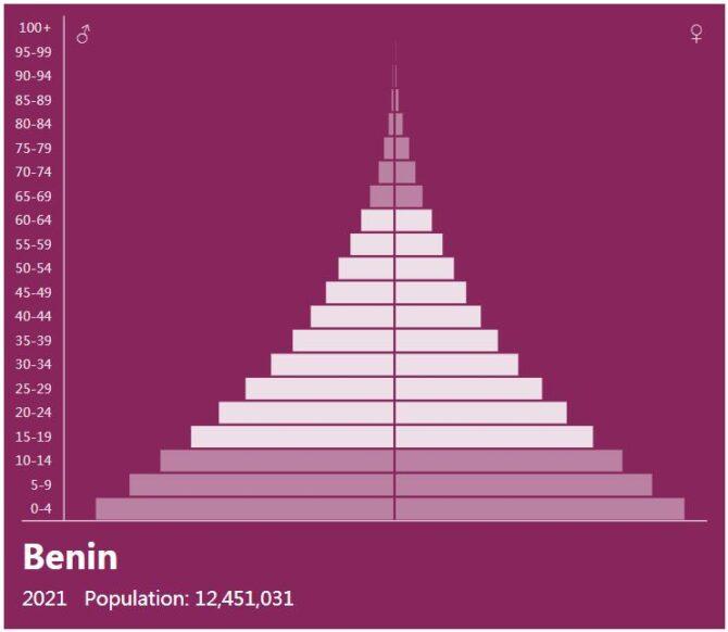 Benin Population Pyramid