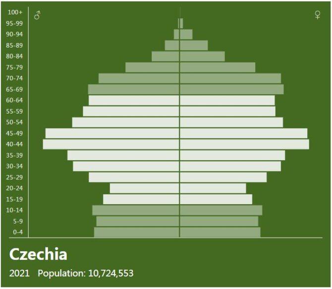 Czech Republic Population Pyramid