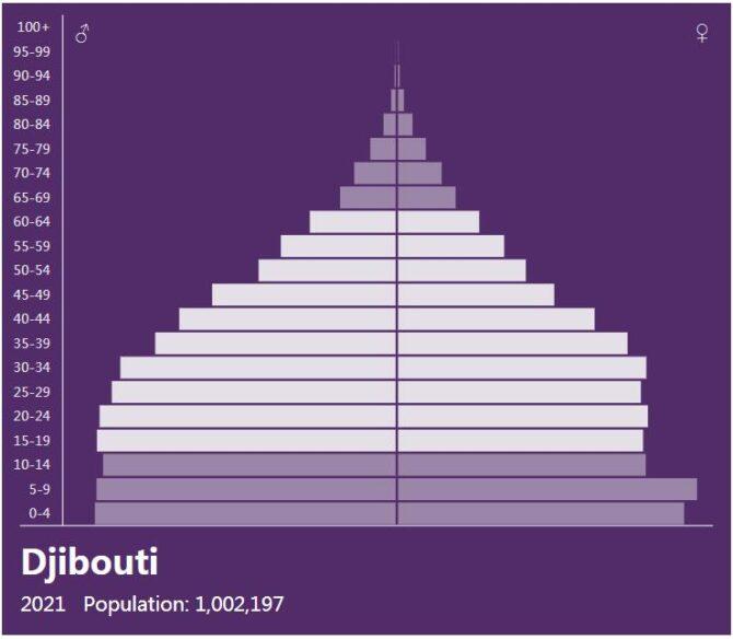 Djibouti Population Pyramid