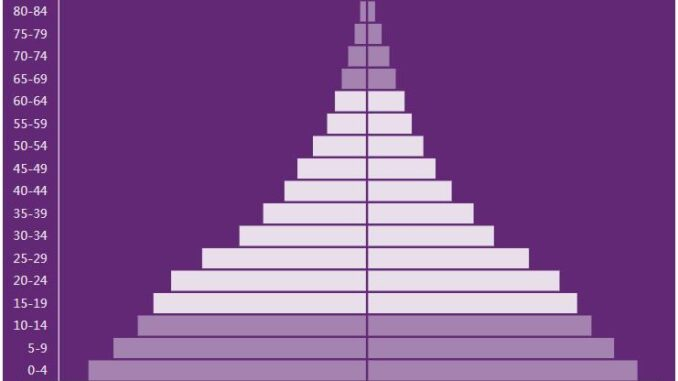 Ethiopia Population Pyramid