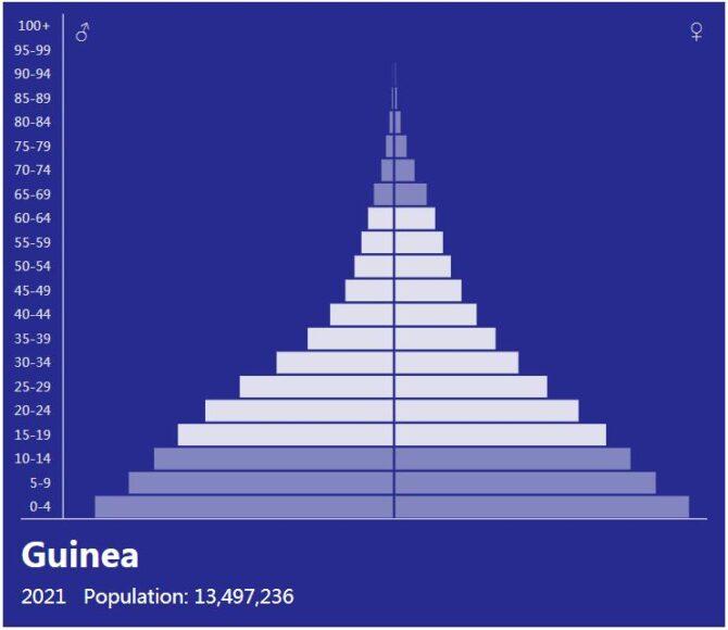 Guinea Population Pyramid