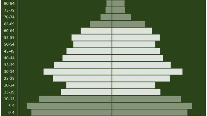 Kazakhstan Population Pyramid