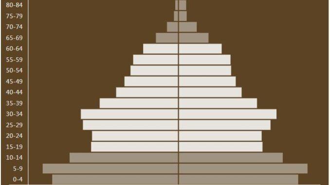 Kyrgyzstan Population Pyramid