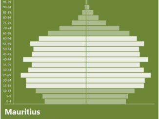 Mauritius Population Pyramid