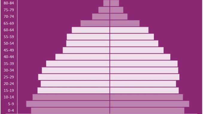 Morocco Population Pyramid