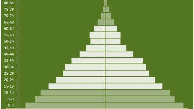 Rwanda Population Pyramid