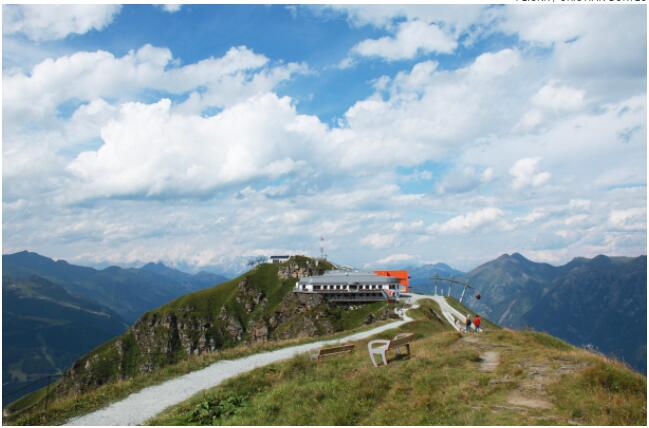 The alpine destination is a choice for hikers during the summer months