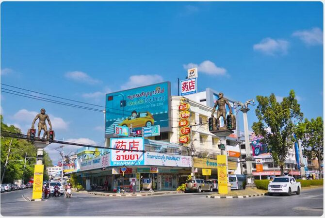 The best places on Maharat Road