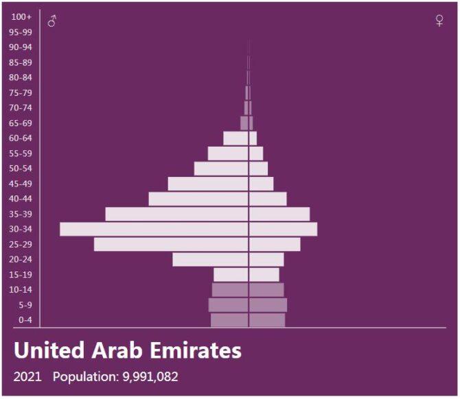 United Arab Emirates Population Pyramid