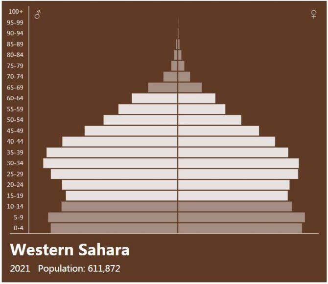 Western Sahara Population Pyramid