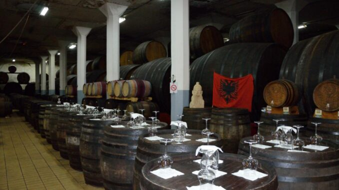 Kosovo Wine cellar in Rahovec