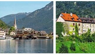 Attractions in Upper and Lower Austria